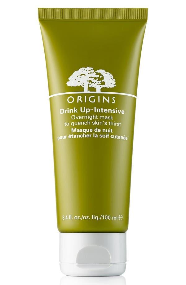 Main Image - Origins Drink Up™ Intensive Overnight Mask