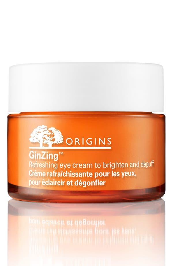 Main Image - Origins GinZing™ Refreshing Eye Cream to Brighten & Depuff