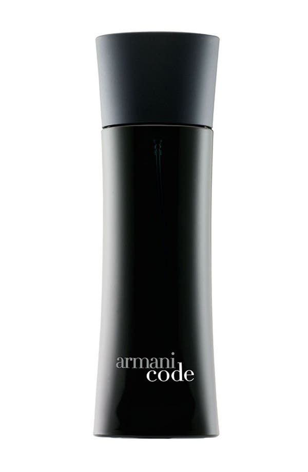 Alternate Image 1 Selected - Armani Code Eau de Toilette Spray