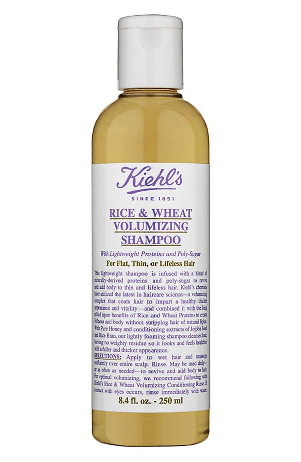 Alternate Image 1 Selected - Kiehl's Since 1851 Rice & Wheat Volumizing Shampoo