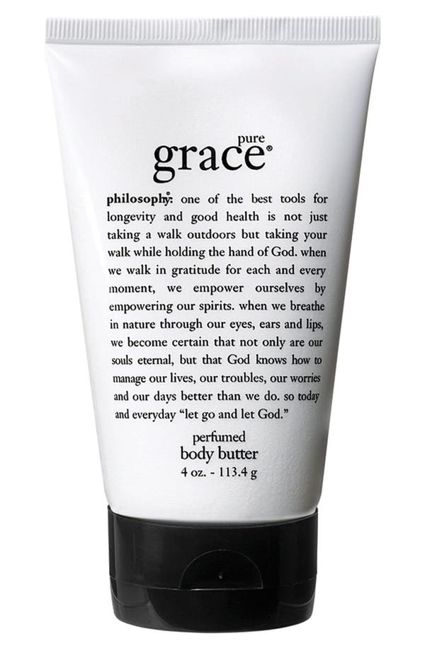 Alternate Image 1 Selected - philosophy 'pure grace' body butter