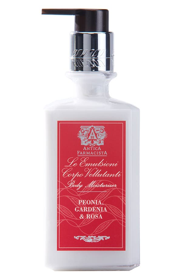 'Peonia, Gardenia & Rosa' Body Moisturizer,                             Main thumbnail 1, color,