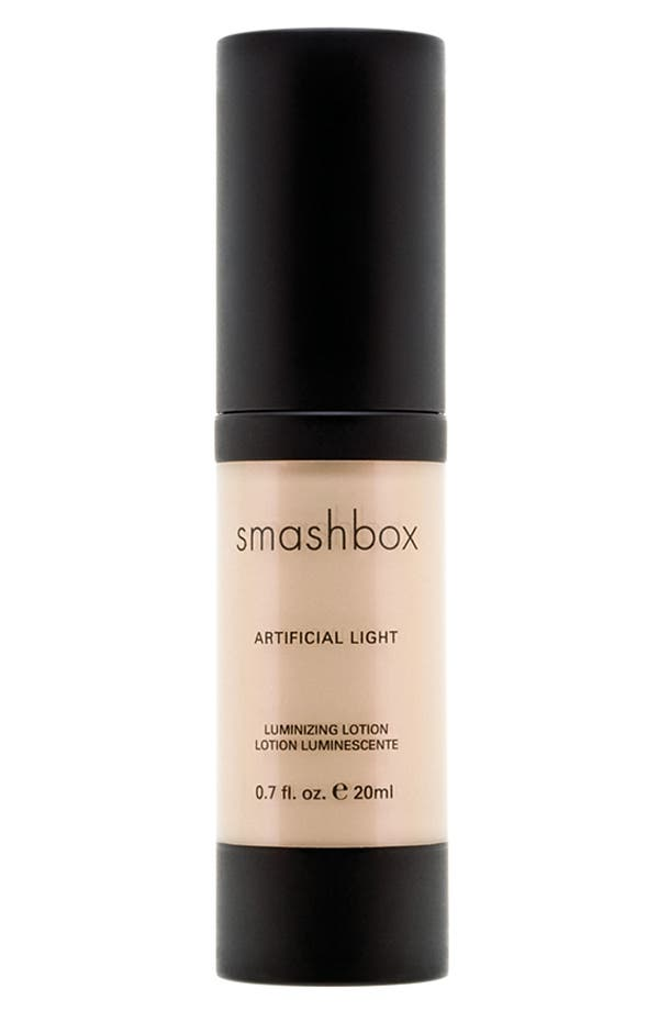 Alternate Image 1 Selected - Smashbox 'Artificial Light' Luminizing Lotion