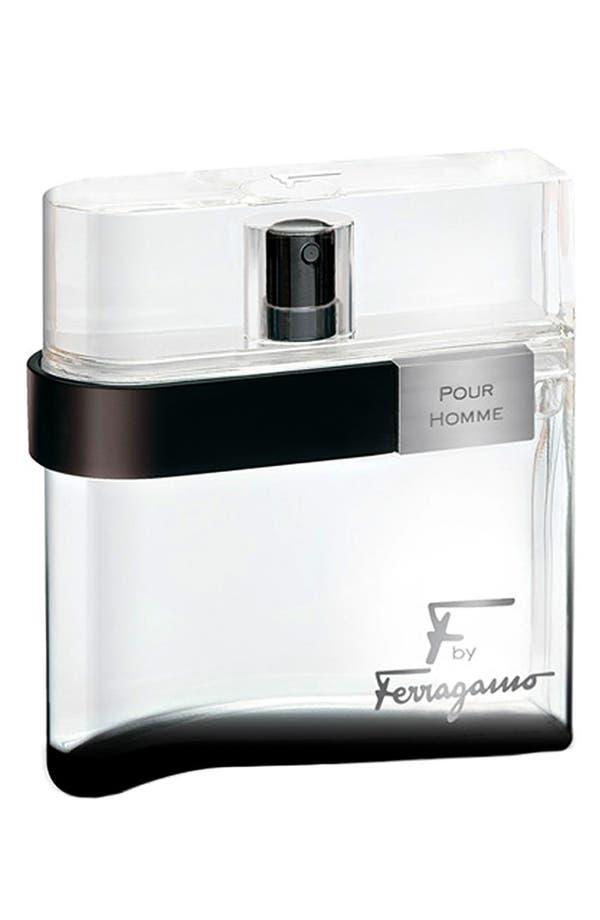 Alternate Image 1 Selected - Salvatore Ferragamo 'F by Ferragamo pour Homme Black' Eau de Toilette Spray