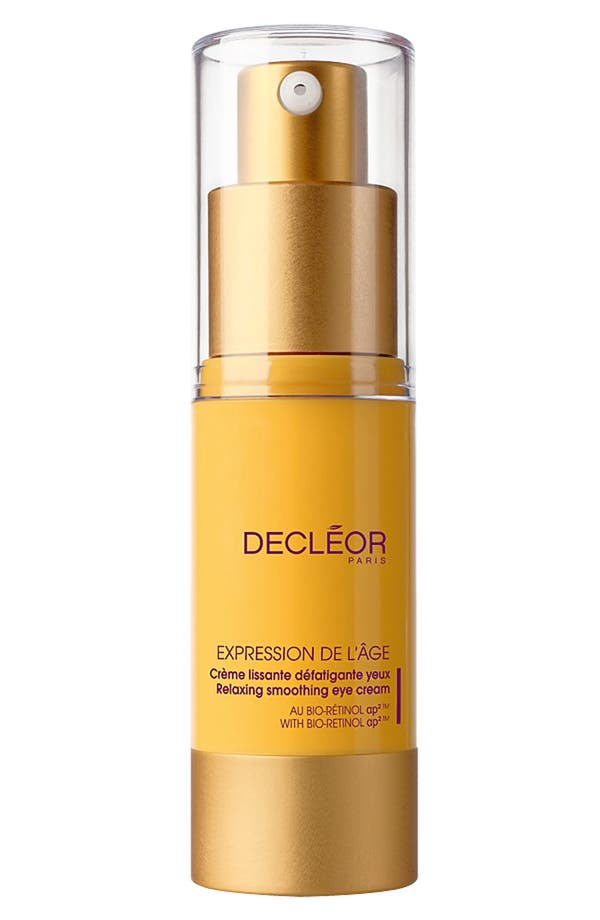 Alternate Image 1 Selected - Decléor 'Expression de L'Âge' Relaxing Smoothing Eye Cream with Bio-Retinol ap²™