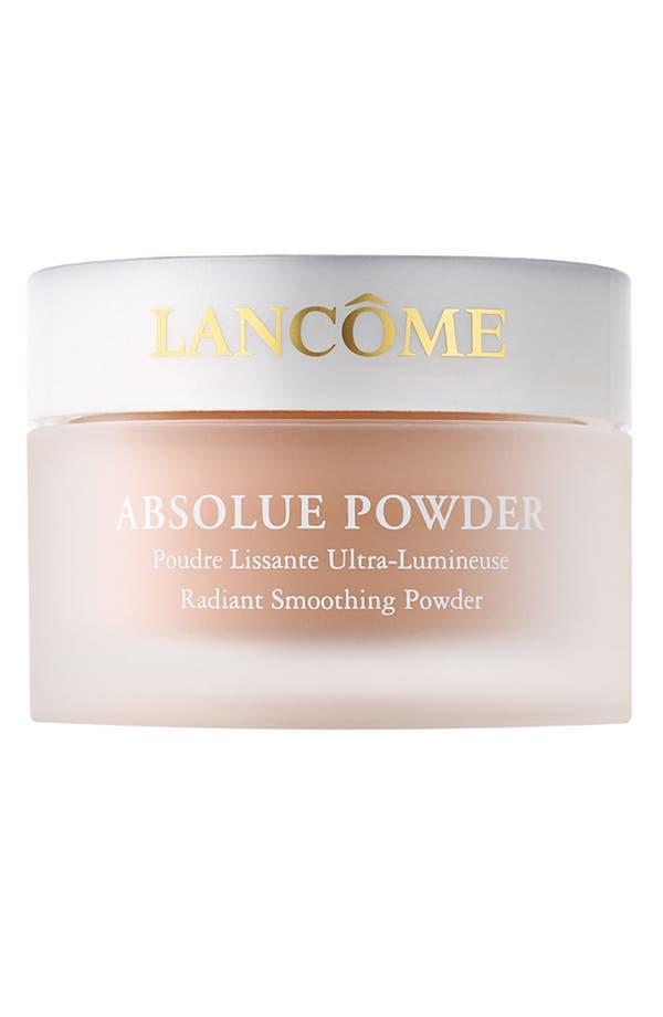 Alternate Image 1 Selected - Lancôme Absolue Powder Radiant Smoothing Powder
