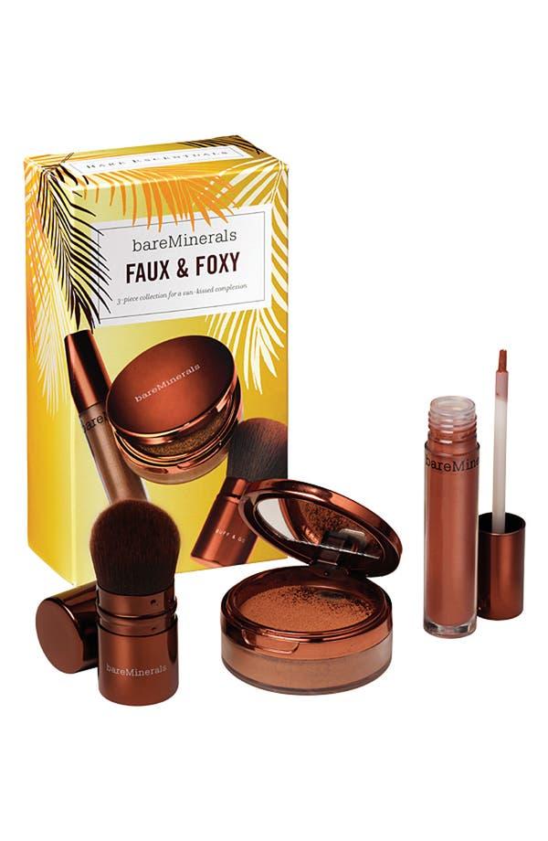 Main Image - Bare Escentuals® bareMinerals® 'Faux & Foxy' Collection ($57 Value)