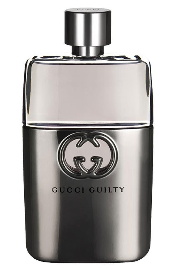 Alternate Image 1 Selected - Gucci Guilty pour Homme Eau de Toilette