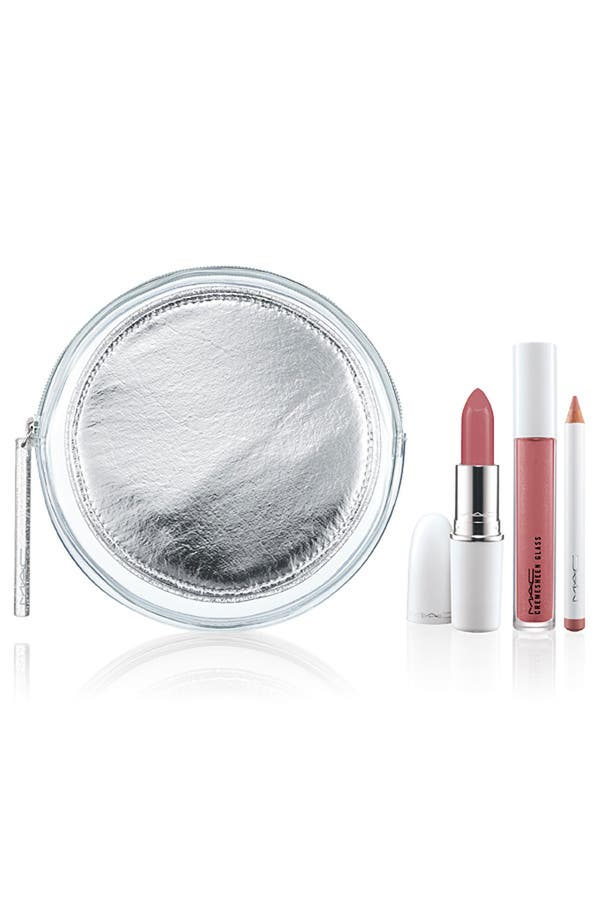 M·A·C 'Iced Delights - Sultry' Lip Bag,                             Main thumbnail 1, color,