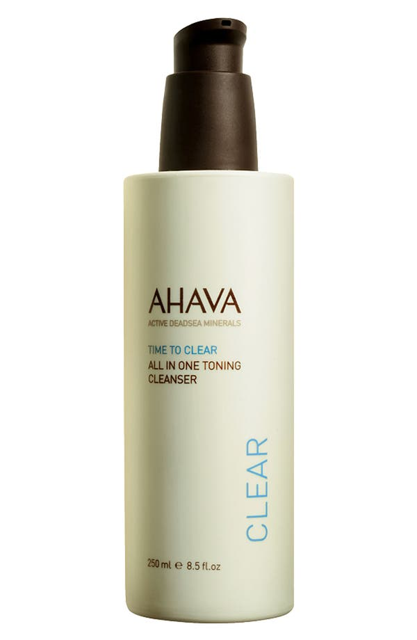 Main Image - AHAVA 'Time to Clear' All in One Toning Cleanser