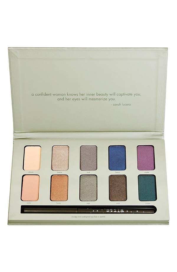 Alternate Image 1 Selected - stila eyeshadow & smudge stick palette ($118 Value)