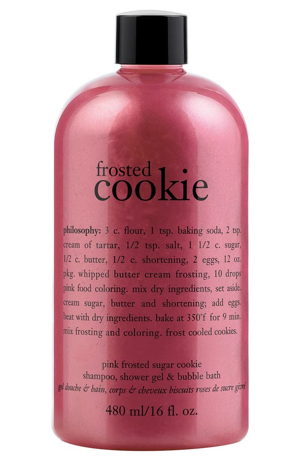 Main Image - philosophy 'frosted cookie' high-foaming shampoo, shower gel & bubble bath