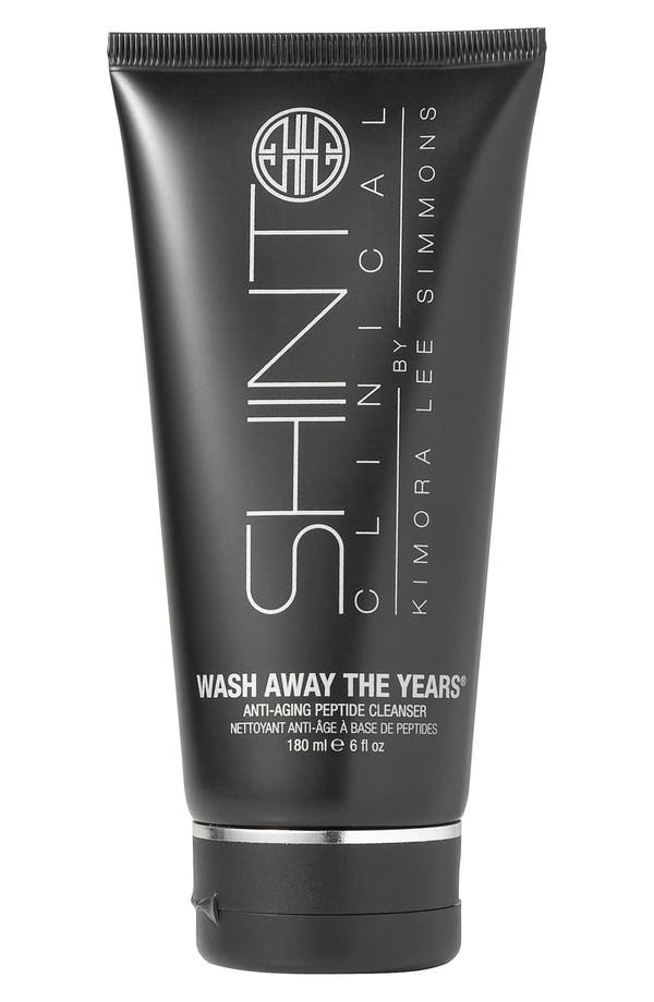 Shinto Clinical 'Wash Away the Years<sup>®</sup>' Anti-Aging Cleanser,                             Main thumbnail 1, color,