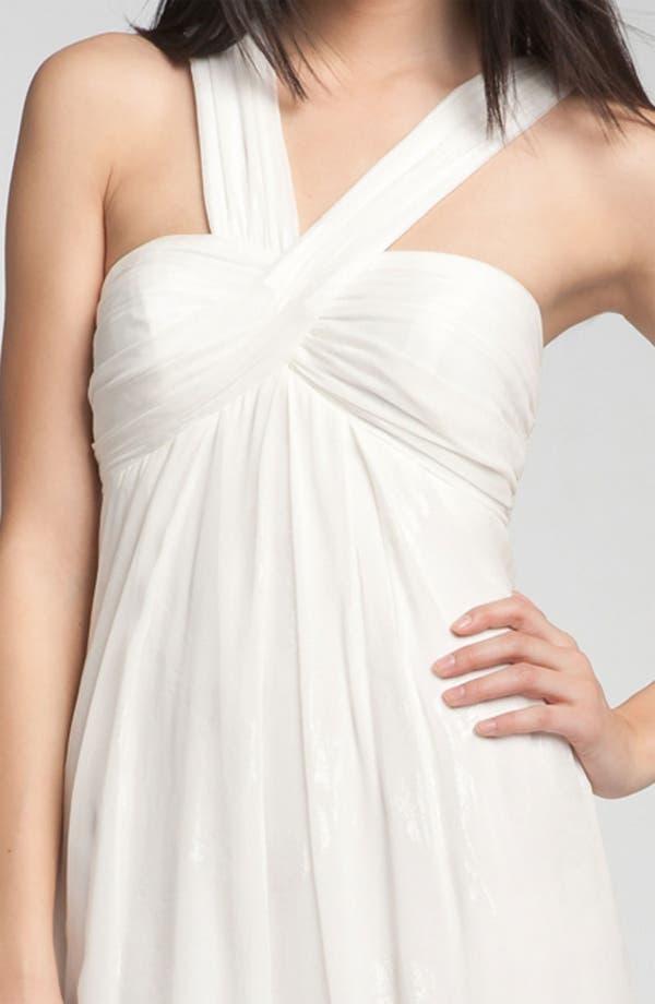 Alternate Image 3  - Nicole Miller V-Strap Gown