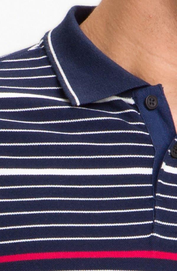 Alternate Image 3  - rag & bone Stripe Polo