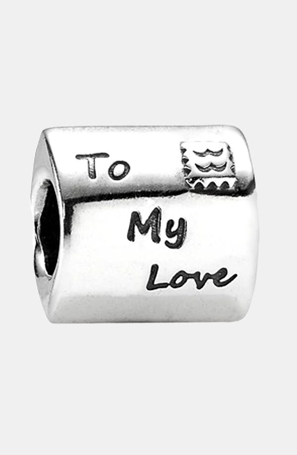 Alternate Image 1 Selected - PANDORA 'Love Letter' Charm