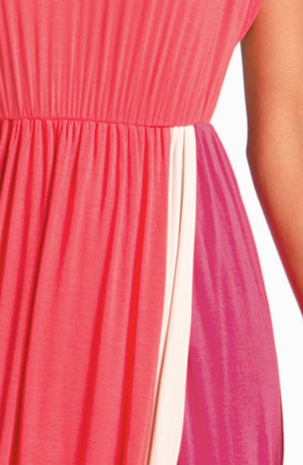 Alternate Image 3  - Felicity & Coco Contrast Trim Colorblock Jersey Maxi Dress (Nordstrom Exclusive)