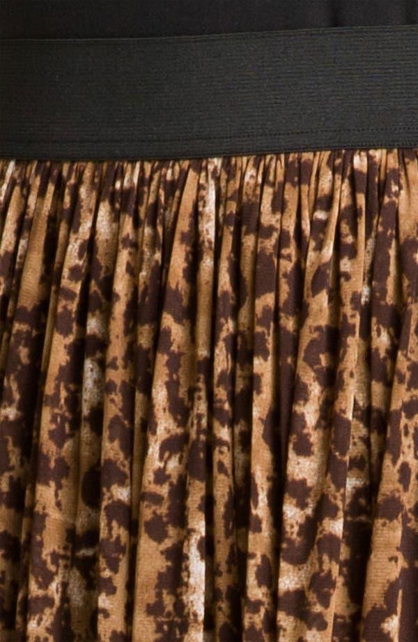Alternate Image 3  - Vince Camuto 'Textured Spots' Animal Print Skirt (Plus)
