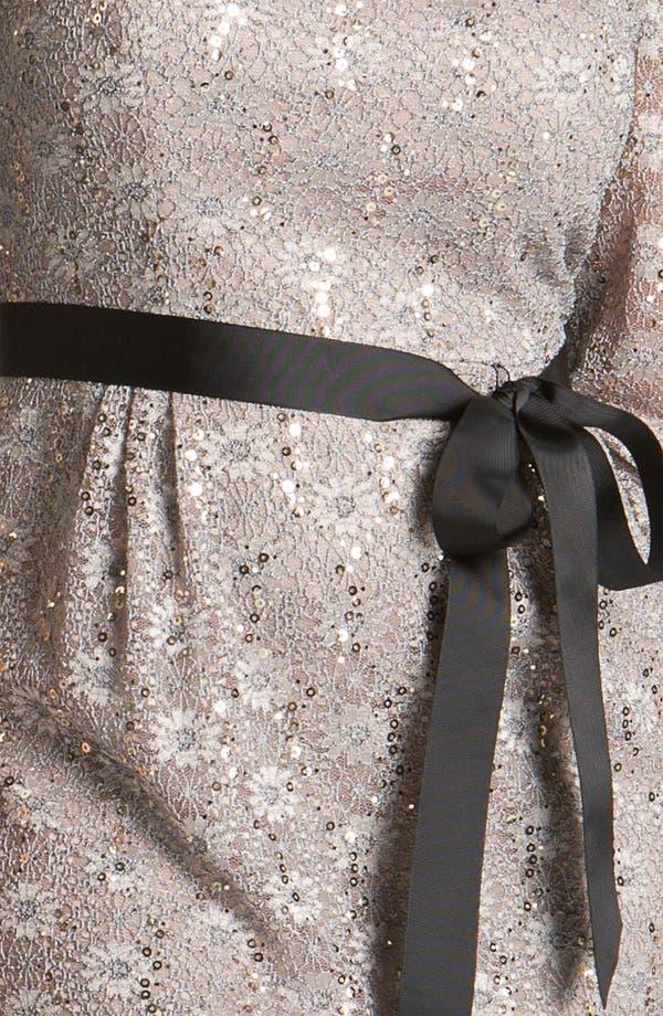 Alternate Image 3  - Alex Evenings Sequin Lace Sheath Dress (Plus Size)