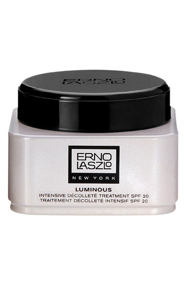 Alternate Image 1 Selected - Erno Laszlo Luminous Intensive Décolleté Treatment SPF 20