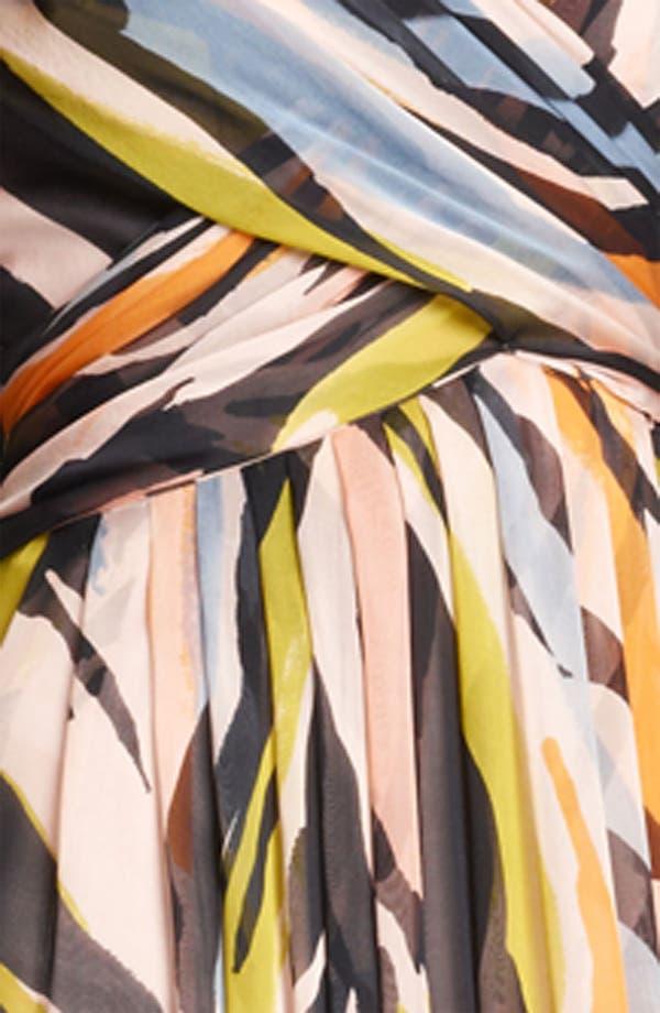Alternate Image 3  - Moschino Cheap & Chic Animal Print Silk Gown