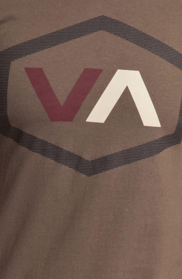 Alternate Image 3  - RVCA 'Oiler' Graphic T-Shirt