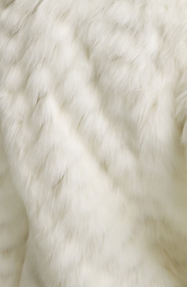 Alternate Image 4  - GUESS Grooved Faux Fur Toggle Jacket