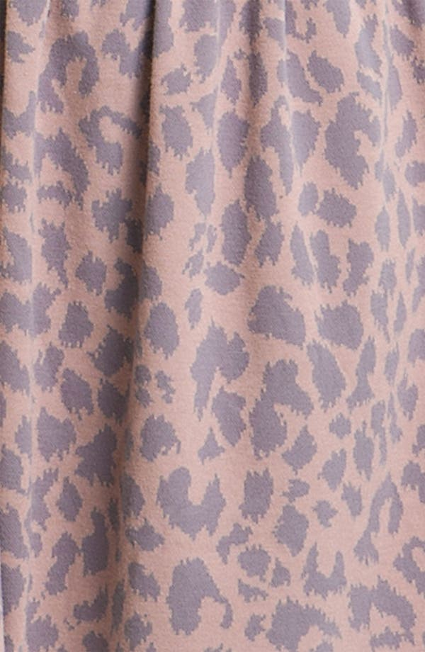 Alternate Image 3  - Frenchi® Leopard Print Knit Dress
