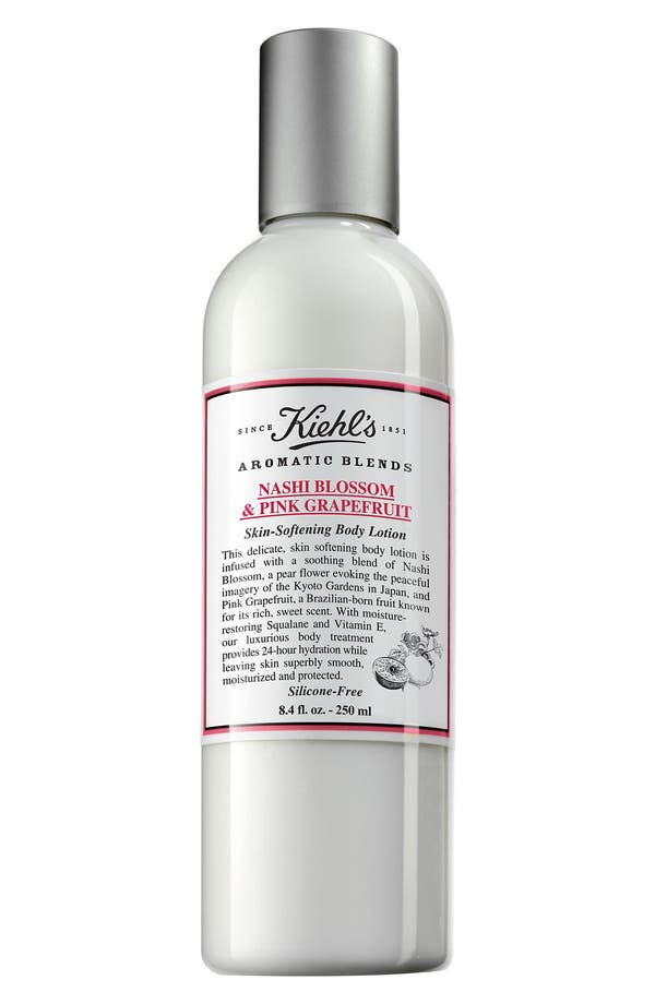 Main Image - Kiehl's Since 1851 'Aromatic Blends - Nashi Blossom & Pink Grapefruit' Skin Softening Body Lotion