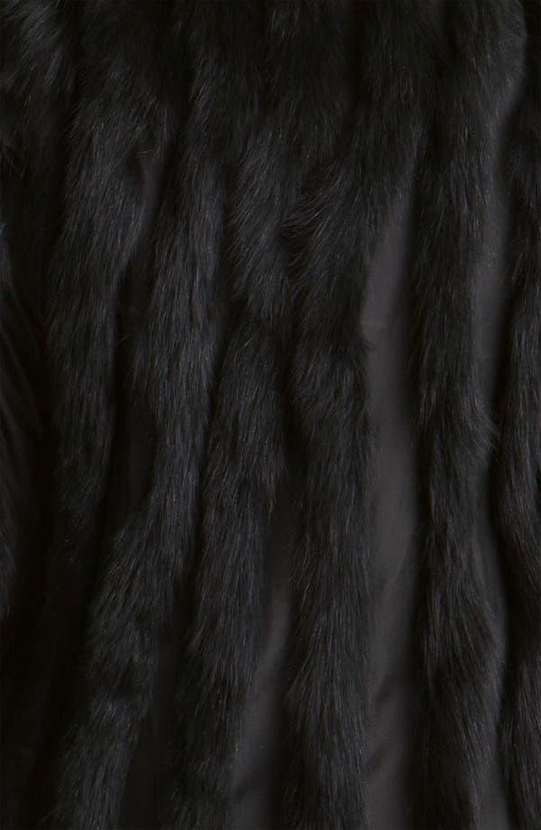 Alternate Image 4  - George Simonton Couture Reversible Genuine Fox Fur & Silk Coat