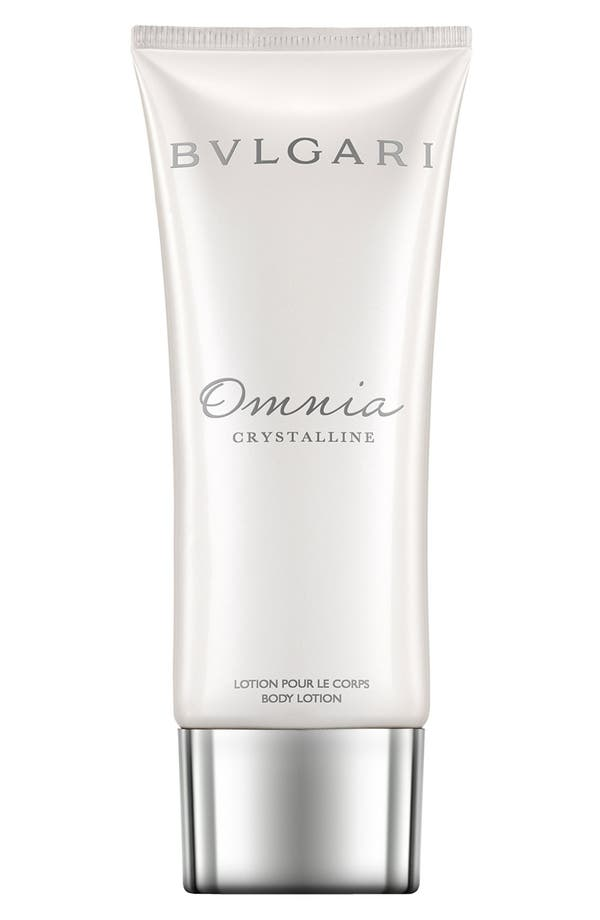 Alternate Image 1 Selected - BVLGARI 'Omnia Crystalline' Body Lotion