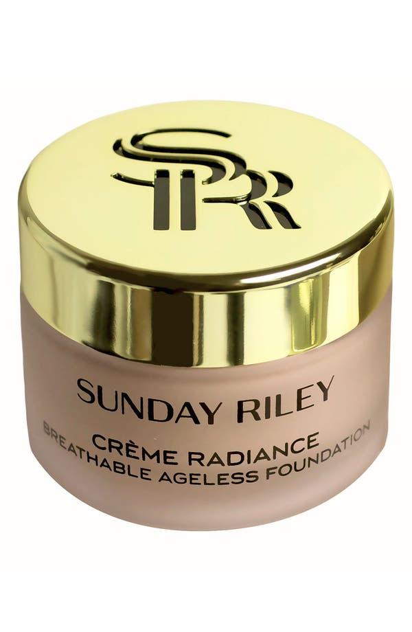 Main Image - Sunday Riley 'Crème Radiance' Breathable Ageless Foundation