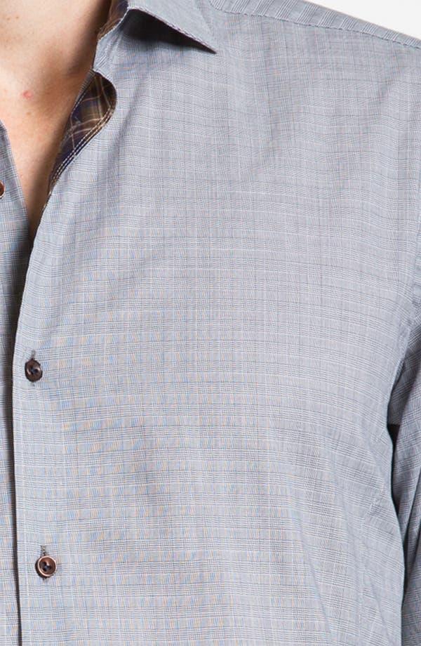 Alternate Image 3  - Stone Rose Check Woven Shirt