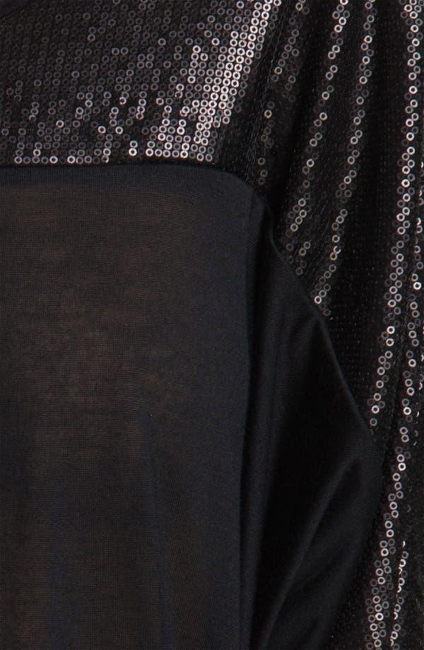 Alternate Image 3  - Ella Moss 'Cleo' Sequin Sleeve Top