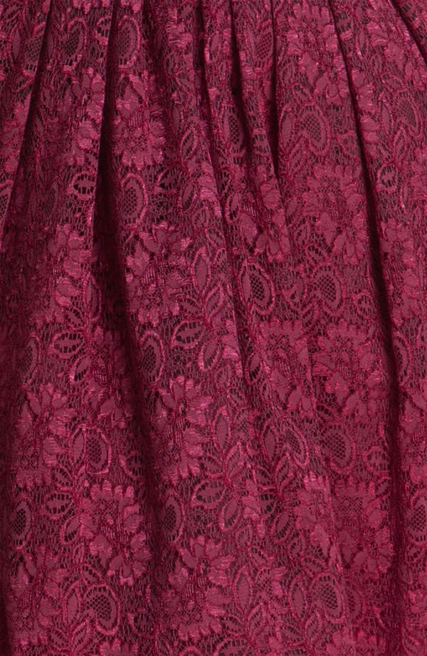 Alternate Image 3  - Taylor Dresses Sleeveless Lace Dress (Plus)