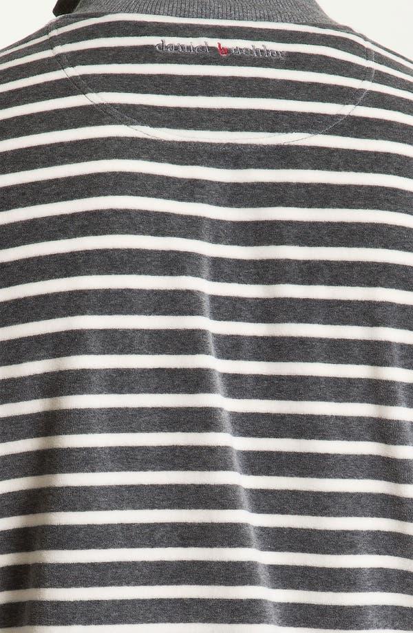 Alternate Image 3  - Daniel Buchler Yarn-Dyed Stripe Velour Track Jacket
