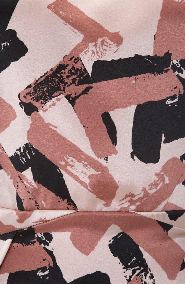 Alternate Image 3  - Topshop Pop Art Print Origami Dress