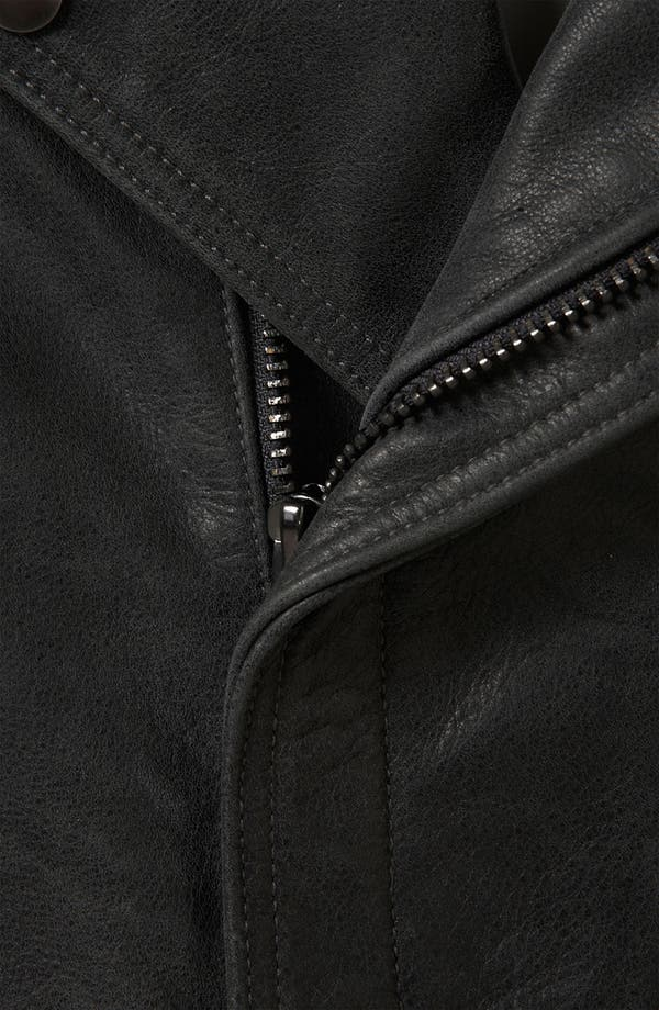 Alternate Image 3  - Topshop Boutique 'Sless' Biker Vest