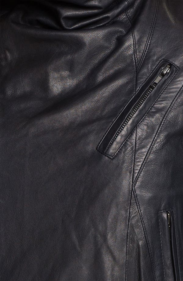 Alternate Image 4  - Veda 'Max' Seamed Leather Moto Jacket