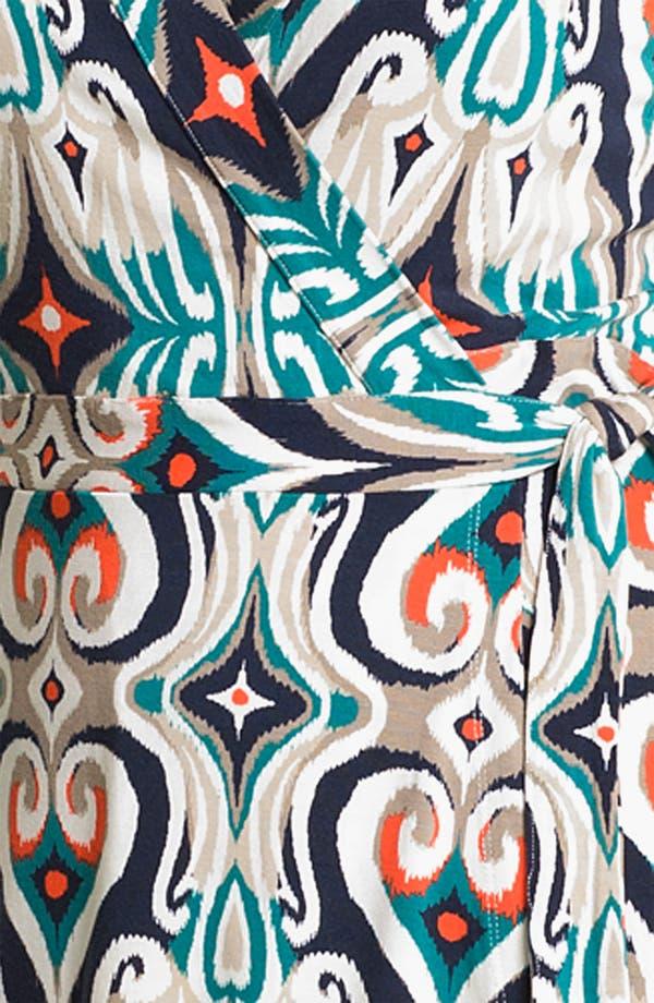 Alternate Image 3  - Tart Print Long Sleeve Wrap Dress
