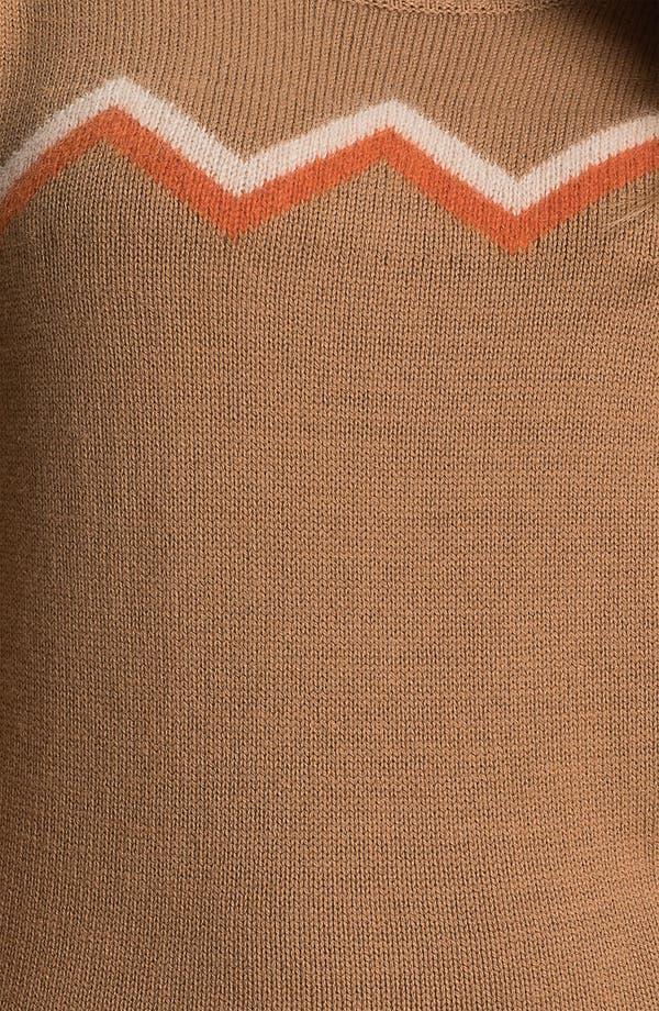 Alternate Image 3  - Caslon® Zigzag Stripe Sweater