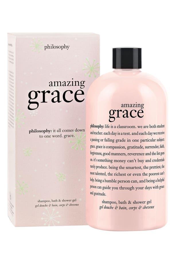 Main Image - philosophy 'amazing grace' perfumed shampoo, bath & shower gel gift box