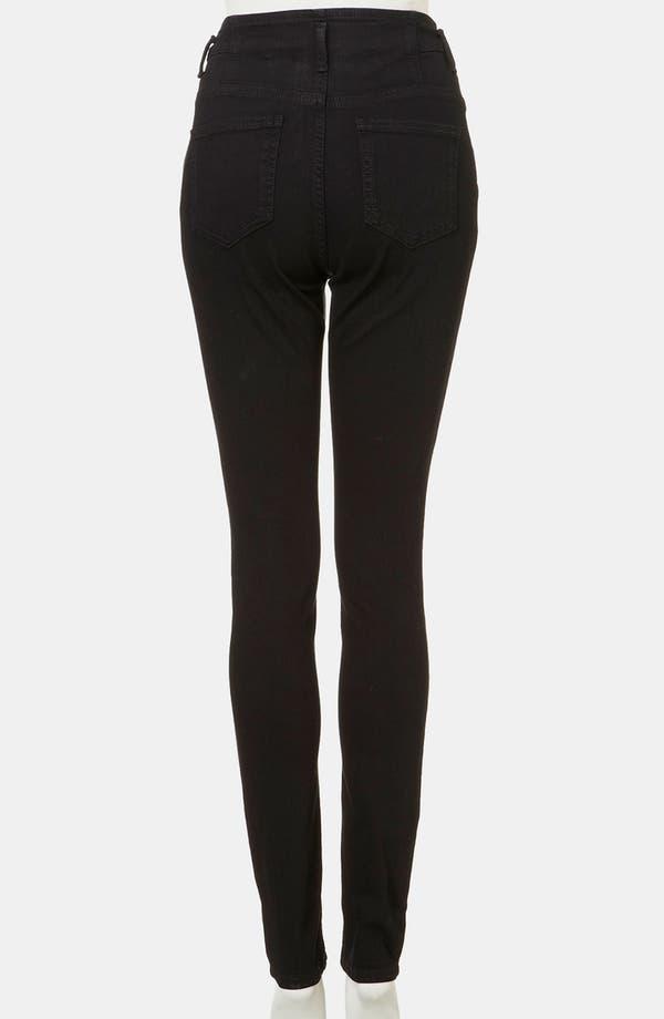 Alternate Image 2  - Topshop Moto 'Kristen' High Waist Skinny Jeans
