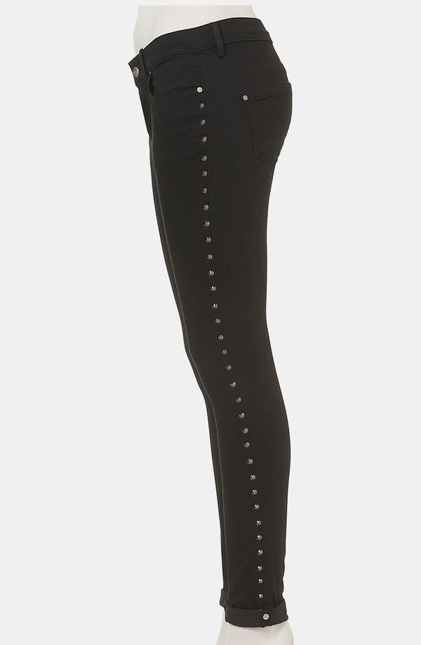 Alternate Image 4  - Topshop Moto 'Leigh' Studded Skinny Jeans