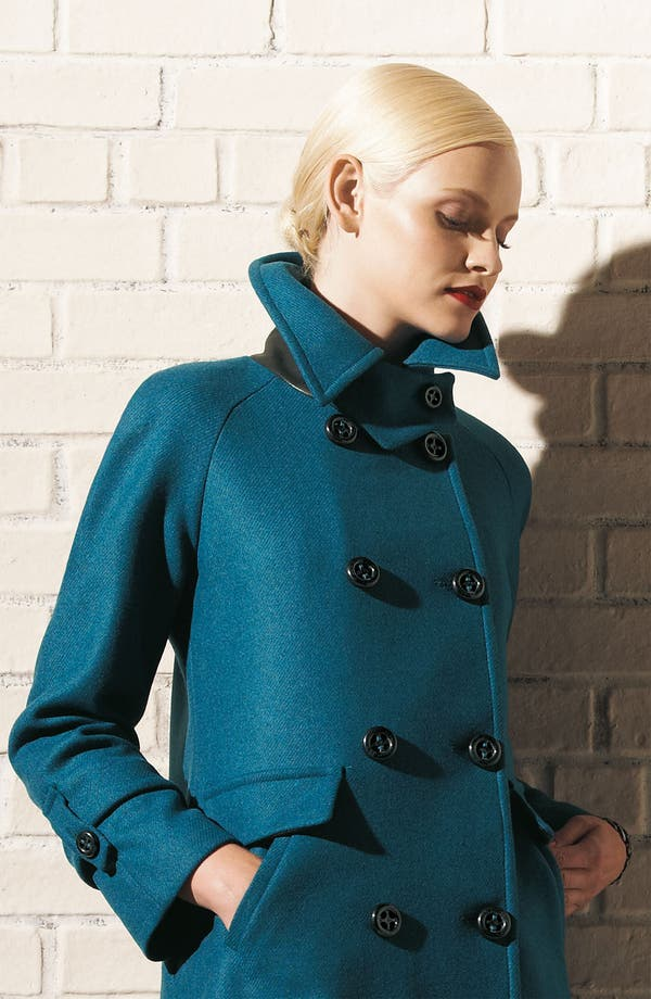 Alternate Image 5  - Trina Turk Double Breasted Coat