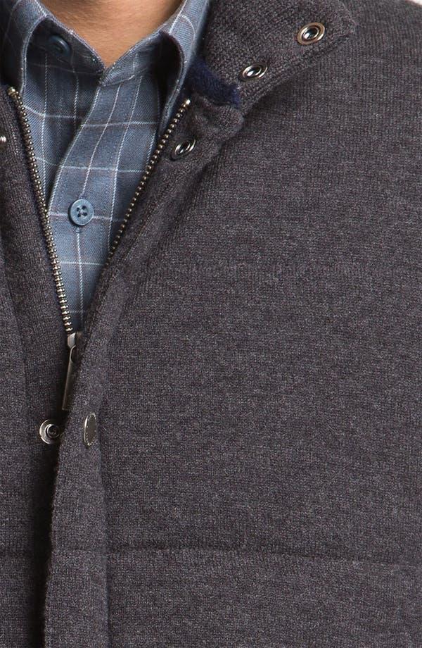 Alternate Image 3  - Façonnable Wool & Cashmere Quilted Vest