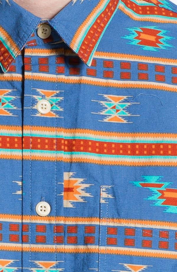 Alternate Image 3  - Topman Short Sleeve Print Shirt