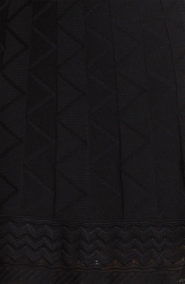 Alternate Image 3  - M Missoni Tonal Zigzag Skirt