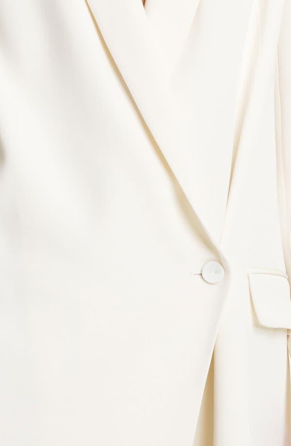 Alternate Image 3  - Haute Hippie One-Button Silk Blazer Dress