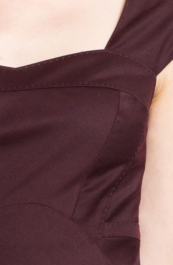 Alternate Image 3  - Ted Baker London 'Priad' Wool Blend Sheath Dress
